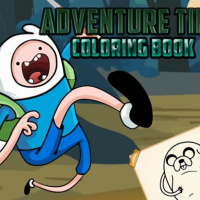 Friv Adventure Time Coloring Book Online