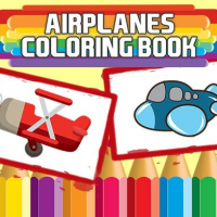 Friv Airplanes Coloring Book Online
