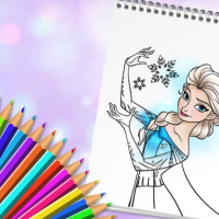 Friv Amazing Princess Coloring Book Online