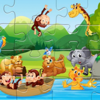 Friv Animals Puzzle Online