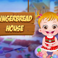Baby Hazel Gingerbread House