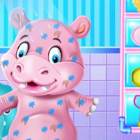 Friv Baby Hippo Bath Time Online