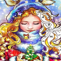 Friv Christmas:Coloring Book, Coloring GAME FREE Online