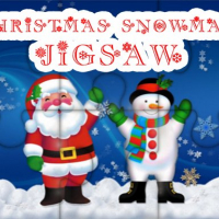 Friv Christmas Snowman Jigsaw Puzzle Online