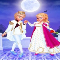 Friv Cinderella & Prince Charming - Dress Up Online