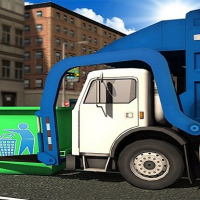 Friv City Garbage Truck Simulator Game Online