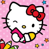 Friv Color By Number With Hello Kitty Online