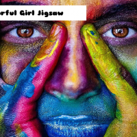 Friv Colorful Girl Jigsaw Online