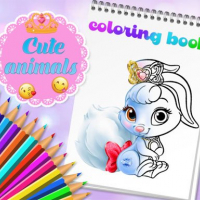 Friv Cute Animals Coloring Book Online