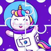 Friv Cute Rainbow Unicorn Puzzles Online