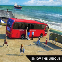 Friv Floating Water Surface Bus Racing Game Online