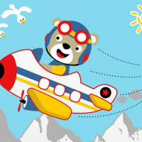 Friv Friendly Airplanes For Kids Coloring Online