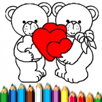 Friv Happy Valentines Day Coloring Online