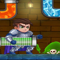 Friv Hero Plante Rescue: Water Puzzle Online