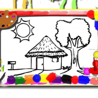 Friv House Coloring Book Online
