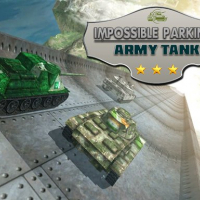 Friv Impossible Parking : Army Tank Online