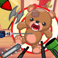 Friv Kick The Teddy Bear Online