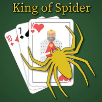 Friv King of Spider Solitaire Online