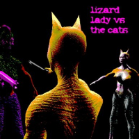 Friv Lizard Lady vs the Cats Online