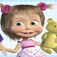Friv Masha and the Bear: House Cleaning Online