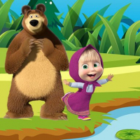 Friv Masha and the Bear Jigsaw Puzzles Online