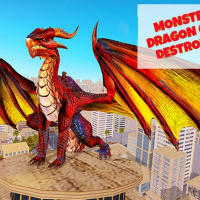 Friv Monster Dragon City Destroyer Online