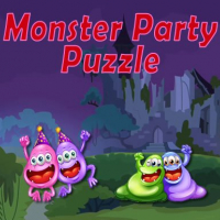 Friv Monster Party Puzzle Online