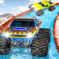 Friv Monster Truck Water Surfing : Truck Racing Games Online