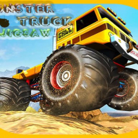 Friv Monster Trucks Jigsaw Online