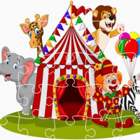 Friv Party Animals Jigsaw Online