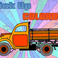 Friv Pick Up Trucks Coloring Online