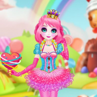 Friv Princess Sweet Candy Cosplay Online
