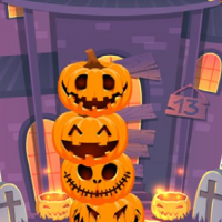 Friv Pumpkin tower halloween Online