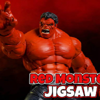 Friv Red Monster Jigsaw Online