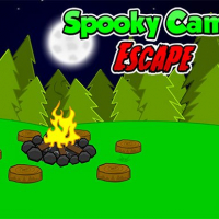Spooky Camp Escape