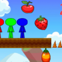 Friv Stickman Bros In Fruit Island 2 Online