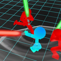 Friv Stickman Neon Warriors: Sword Fighting Online