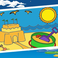 Friv Summer Coloring Pages Online