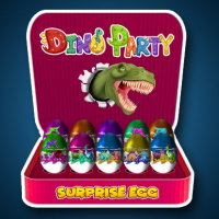 Friv Surprise Egg: Dino Party Online
