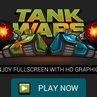 Friv Tank Wars the Battle of Tanks, Fullscreen HD Game Online