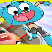 Friv The Amazing World of Gumball falp flap Game online Online