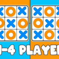 Friv Tic Tac Toe 1-4 Player Online