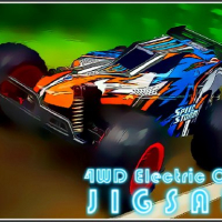Friv 4WD Electric Cars Jigsaw Online