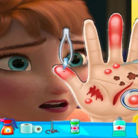 Friv Anna frozen Hand Doctor: Fun Games for Girls Onlin Online
