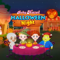 Friv Baby Hazel Halloween Night Online