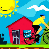 Friv Bicycle Drivers Puzzle Online