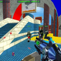 Friv Blocky Gun Paintball 3 Online