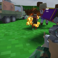 Friv Blocky Zombie And Vehicle Shooting Online