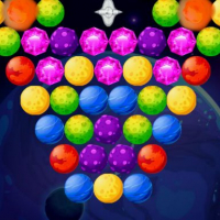 Friv Bubble Shooter Planets Online