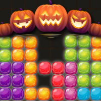 Candy Puzzle Blocks Halloween